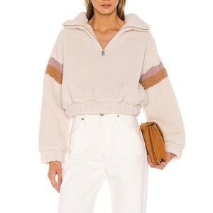 Lovers + Friends Teddy Pull Over Jacket